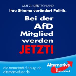 AfD-Mitglied werden!